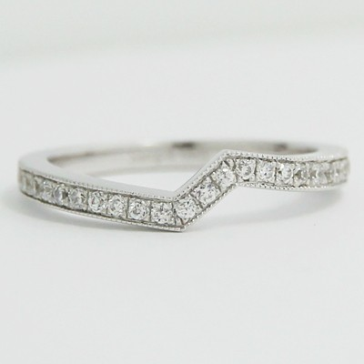 2.0mm Custom-Fitted Wedding Band 14k White Gold