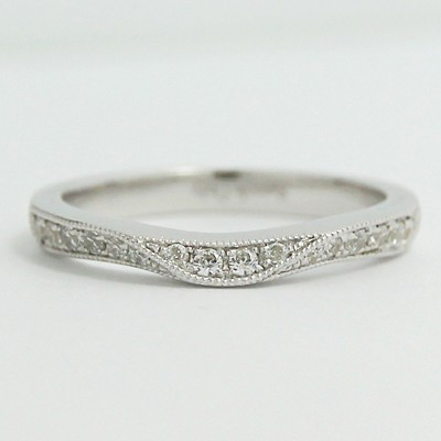 2.7mm Fits Any Setting Diamond Band 14k White Gold