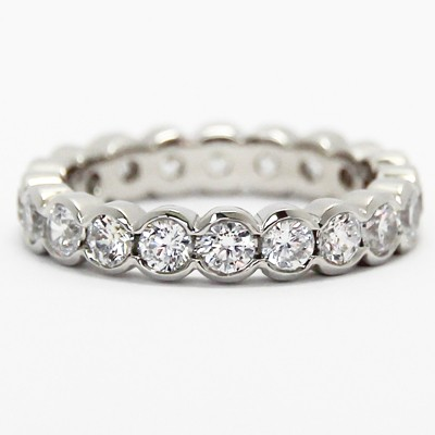 eternity white semi anniversary bands diamond mmallure band gold product