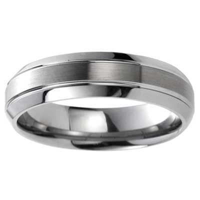 Cobalt Wedding Band 8496