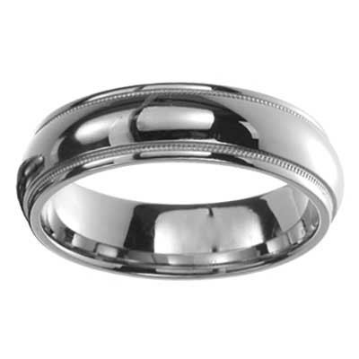 Cobalt Wedding Band 8509