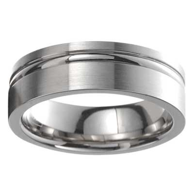 Cobalt Wedding Band 8576