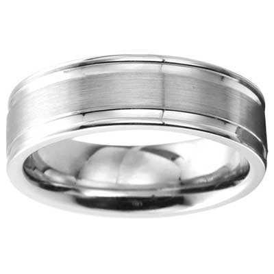 6mm Wedding Band 10k White Gold W93991-6