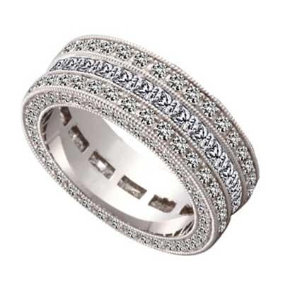 Anniversary Ring 14k White Gold W93537-1