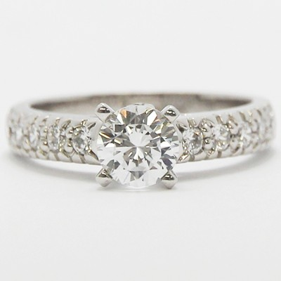 Vintage Style Engagement Ring 82