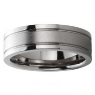 Titanium Wedding Band 1555