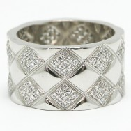 Contemporary Style Silver Ring