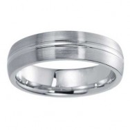 6mm Wedding Band 10k White Gold W94904-6