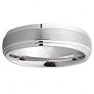 6mm Wedding Band 10k White Gold W94907N-6