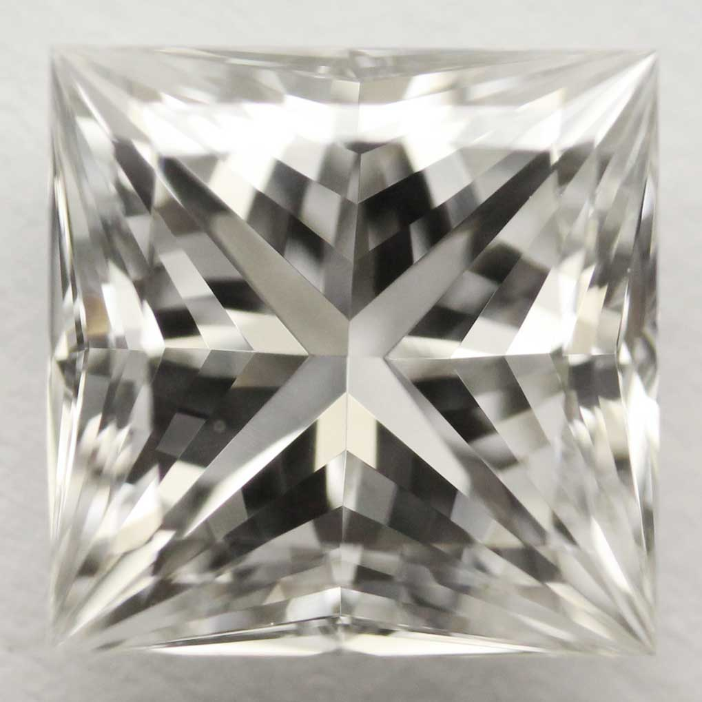 0.74 Carat - Princess Cut Diamond