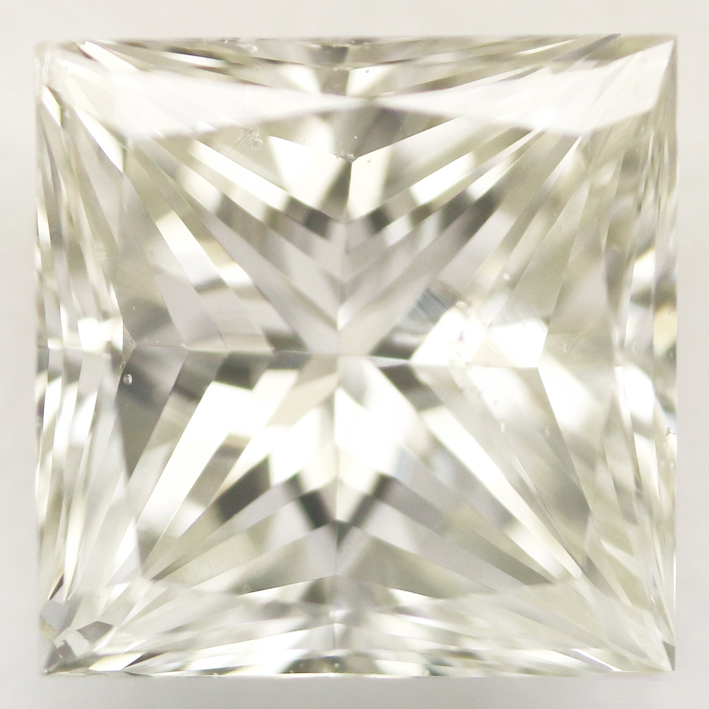 0.90 Carat - Princess Cut Diamond