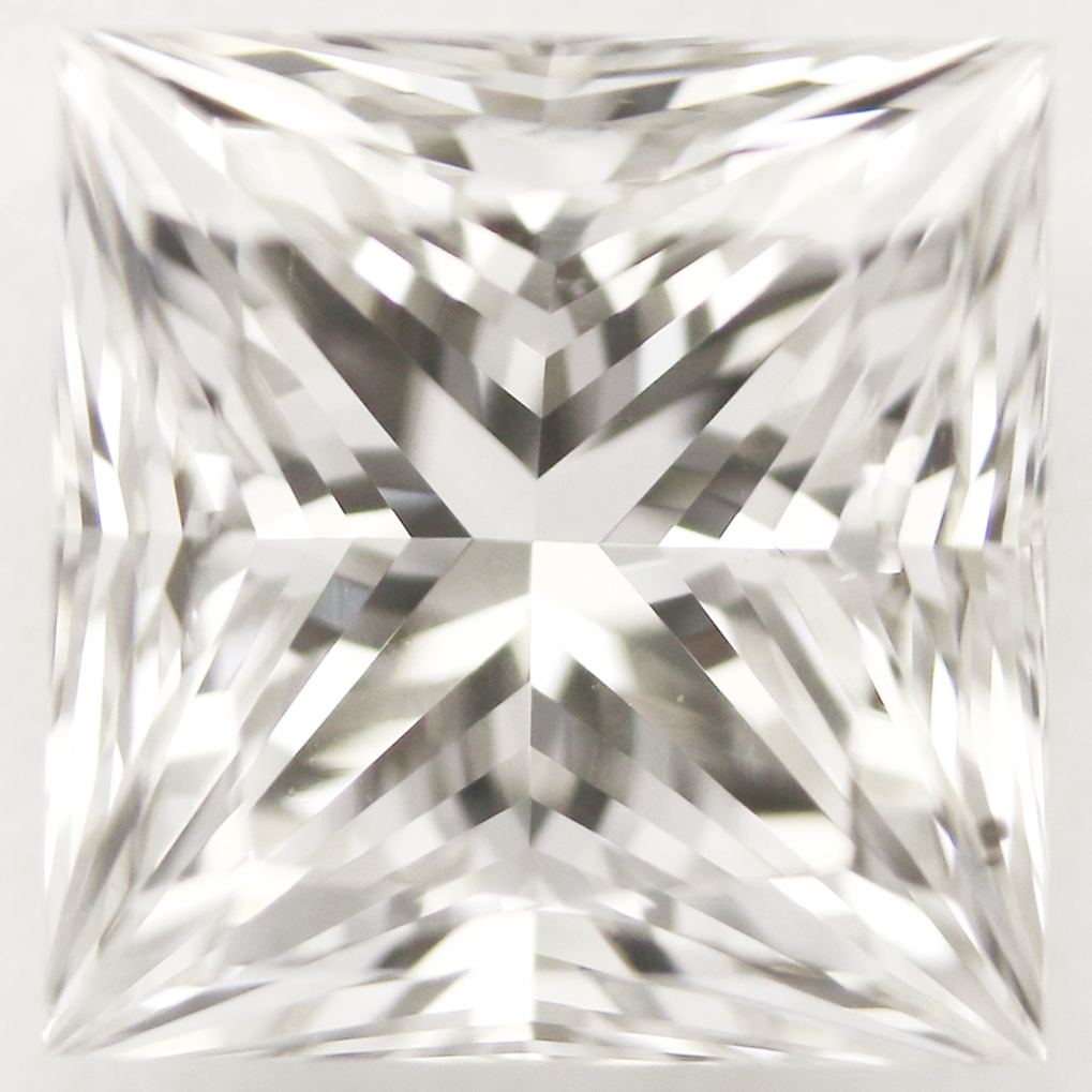 0.72 Carat - Princess Cut Diamond