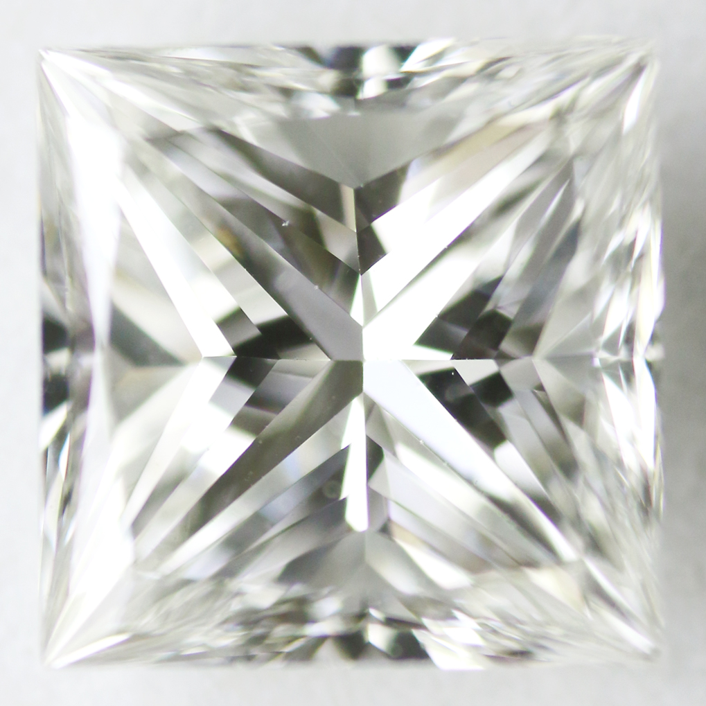 0.71 Carat - Princess Cut Diamond