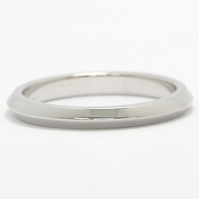 2.4mm Knife Edge Ladies Wedding Band 14k White Gold