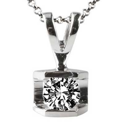 Pendant 14k White Gold F9229