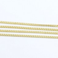 Curblink Style Chain in 14k Yellow Gold GCC