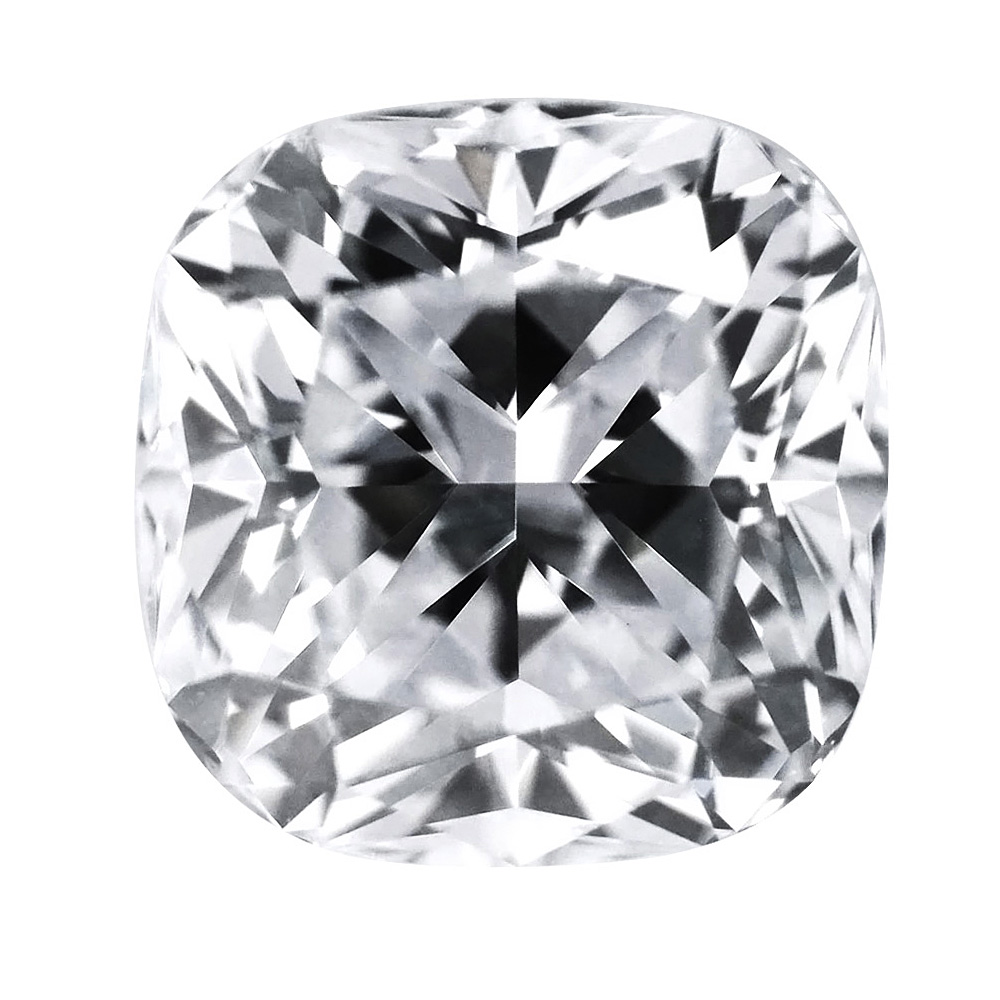 1.01 Carat - Cushion Cut Diamond, Lab Grown