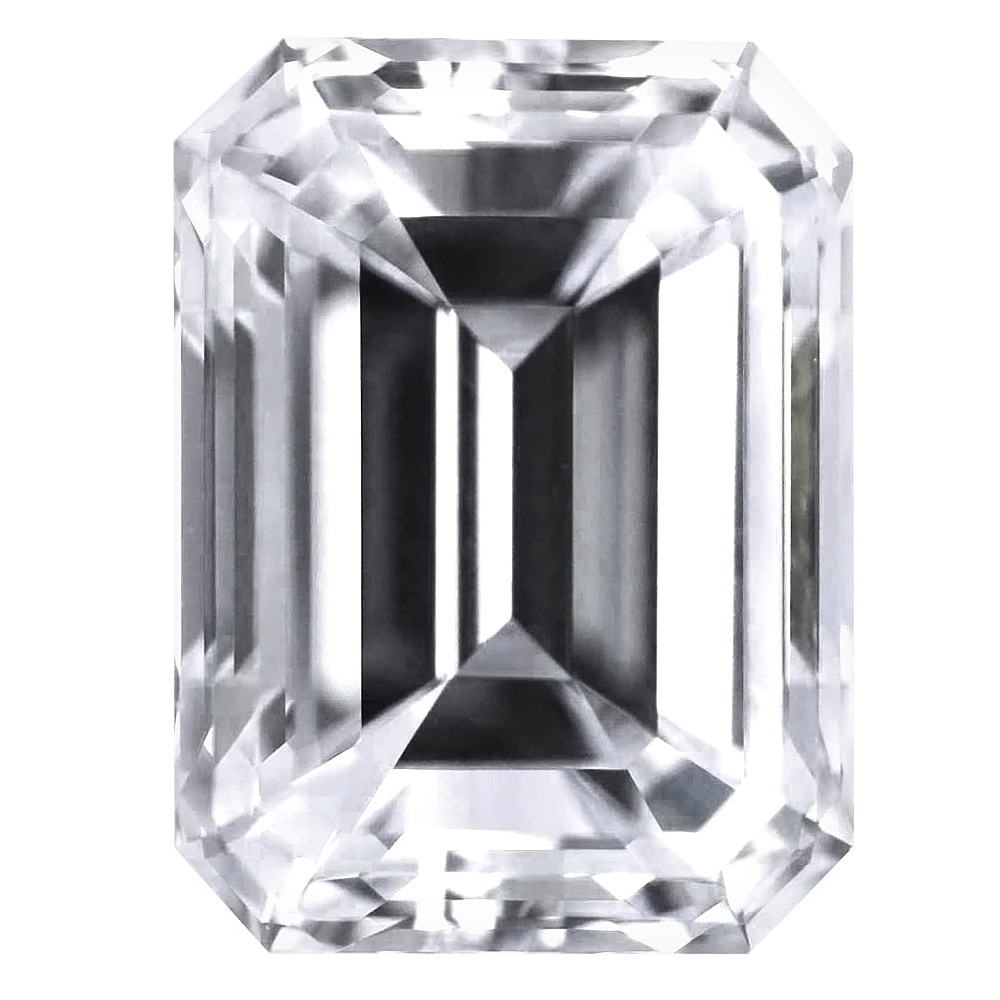 2.08 Carat - Emerald Cut Diamond, Lab Grown
