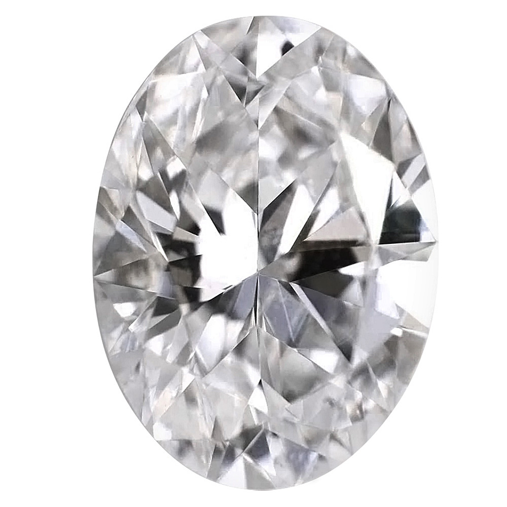 1.00 Carat - Oval Cut Diamond, Lab Grown