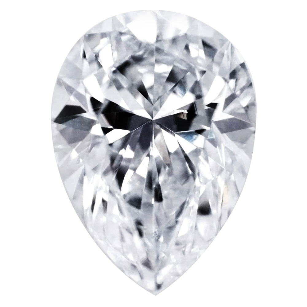 1.02 Carat -  Pear Shape Cut Diamonds, Lab Grown