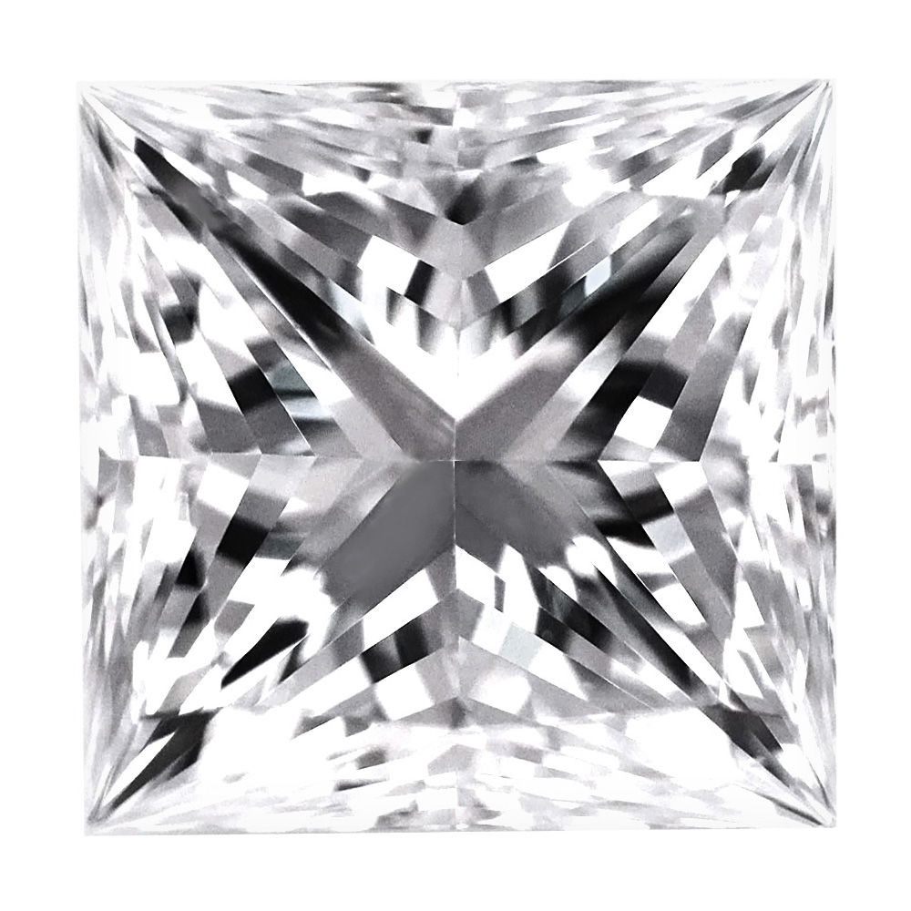 1.14 Carat - Princess Cut Diamonds, Lab Grown